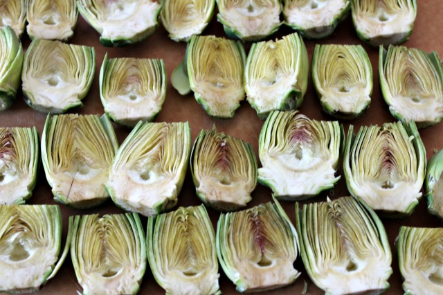 Artichokes are very photogenic.